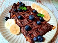 無澱粉低醣雙重巧克力鬆餅