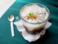 椰香奶蓋冰咖啡拿鐵