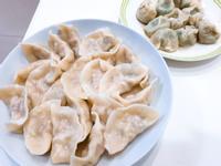 豬肉高麗菜水餃+韭菜香菇冬粉水餃