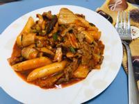 (豬肉)泡菜炒年糕