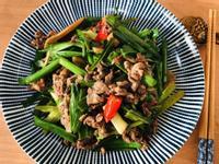 蔥爆牛肉/快炒/10分鐘料理/家常菜