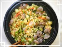 【低蛋白料理】越之白米蝦仁蛋炒飯