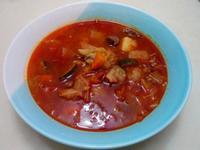 彩蔬牛肉湯