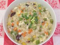 蔬菜南瓜黑豆粥