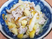 親子手作:雙菇味噌豬燴時蔬