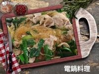 韭菜炒冬粉