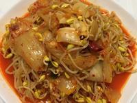 黃豆芽炒泡菜