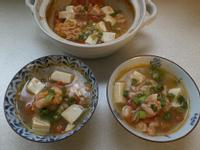 鮮蝦茄汁豆腐煲