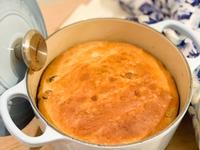 烘焙麵包🥯葡萄乾烤歐式軟包(鑄鐵鍋版)