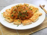 蝦湯燴豆腐粉絲(蝦殼利用)