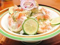 酪梨蝦球沙拉