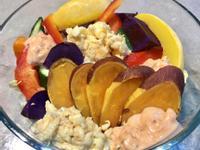 龍蝦蔬菜蛋沙拉