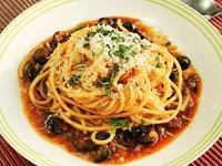 義大利煙花女麵 Spaghetti alla Puttanesca