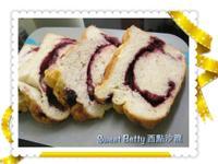 菠蘿酥粒藍莓吐司