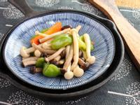 【厚生廚房】青椒炒雙菇