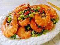 蔥香椒鹽蝦
