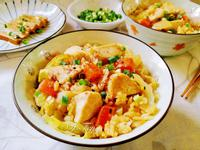 雞肉高麗菜飯(電鍋版)