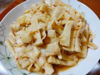 簡易家常菜-炒酸筍