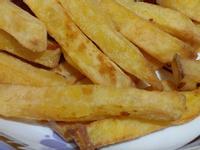 FEN宅女的簡易廚房--氣炸地瓜薯條