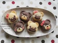 【肉桂打噴嚏】小熊造型雞蛋糕