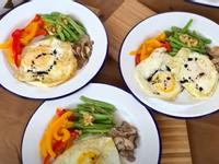 雙蛋蘑菇早餐