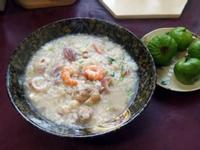 剩食海鮮粥