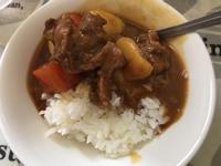 咖喱牛肉(延伸馬鈴薯燉肉)