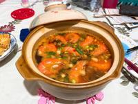 🦐鮮蝦粉絲煲