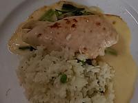 #羅倫斯雞胸附青豆飯
