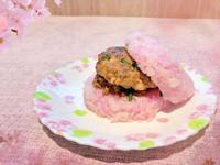 蒼蠅頭 肉餅米漢堡
