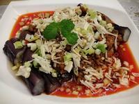 魚香紫茄金針菇