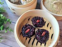 黑珍珠紫米丸