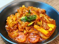 韓式辣炒年糕雞