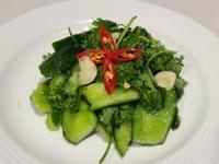 涼拌香菜小黃瓜