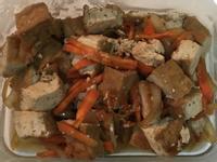 紅燒黃金豆腐