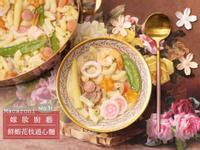 鮮蝦花枝通心麵 - 小朋友最愛的繽紛料理