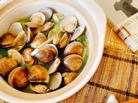 絲瓜蛤蜊(不加水煮出食材鮮甜)