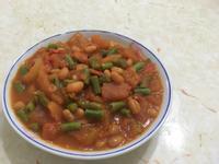茄汁豆炒豆角