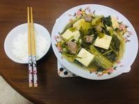 紅麴香腸豆乾菜