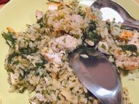 泡菜水蓮虱目魚炒飯