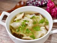餛飩菇菇蔬果湯