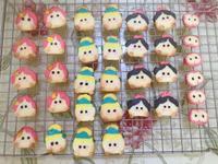 公主造型餅乾
