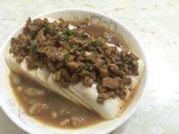 肉未蒸豆腐