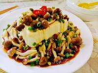 涼拌菇菇豆腐