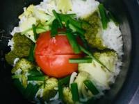 (一鍋到底)蕃茄蝦仁燉飯 快速