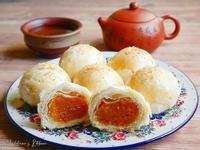 南瓜奶油椰蓉酥(月餅)