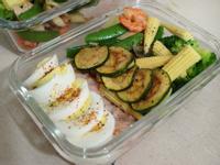 【減脂便當】鮪魚薯泥&甜豆蝦仁