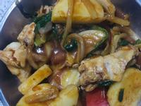 日式咖喱薯仔雞