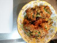 鮮蔬豆腐煎餅(奶蛋素)