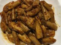 豆瓣醬燒杏鮑菇